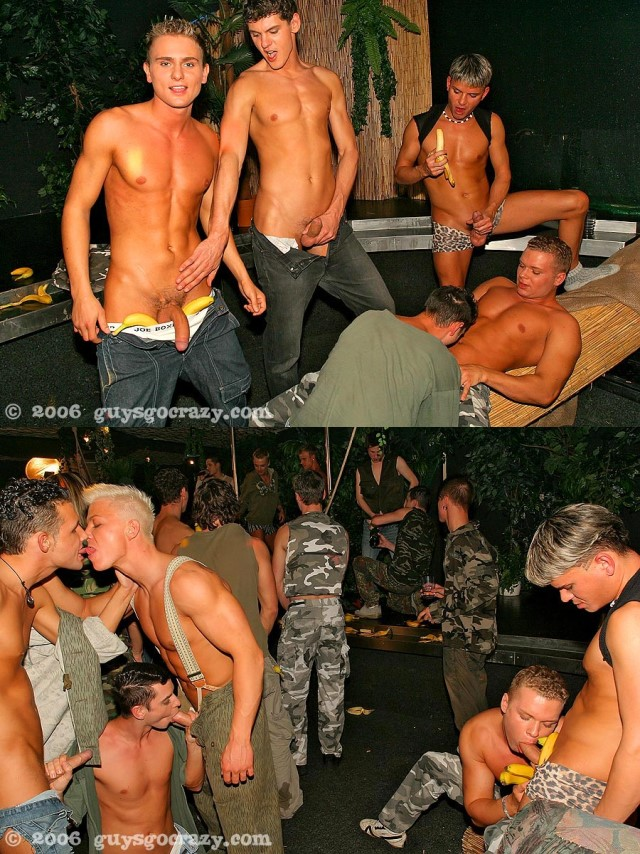 Gay Party Turns Into A Crazy Orgy 2